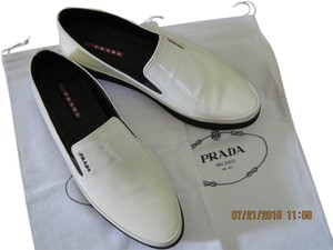 Prada Off white Flats