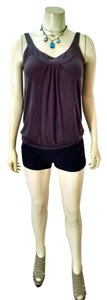 Express Sleeveless Size Small Stretchy Top brown