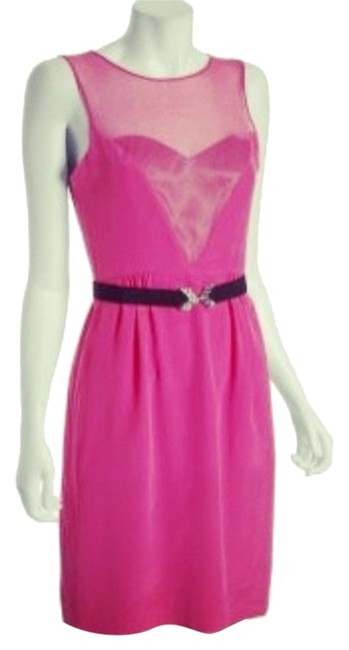 Preload https://item2.tradesy.com/images/bcbgmaxazria-pink-sweetheart-formal-hot-cute-sexy-fancy-night-out-glam-sophisticated-new-knee-length-4424836-0-0.jpg?width=400&height=650