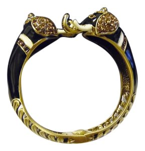 "Heidi Daus Heidi Daus ""Michelle's Majestic Mr Elephant'e"" 7 Inch Bangle Bracelet"