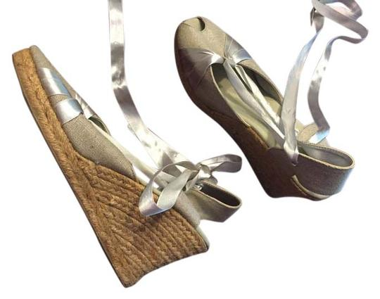 Montego Bay Club Silver and gold inlay Wedges