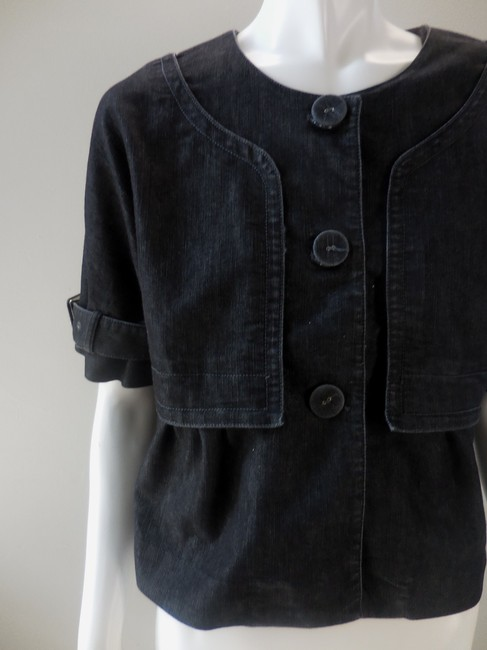 Kenneth Cole Reaction Stretchy Coat Twill Jean 1849 Black Jacket