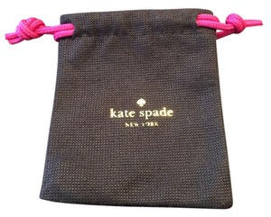 Kate Spade Jewelry Dust Brown Travel Bag