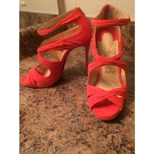 Christian Louboutin Coral Formal
