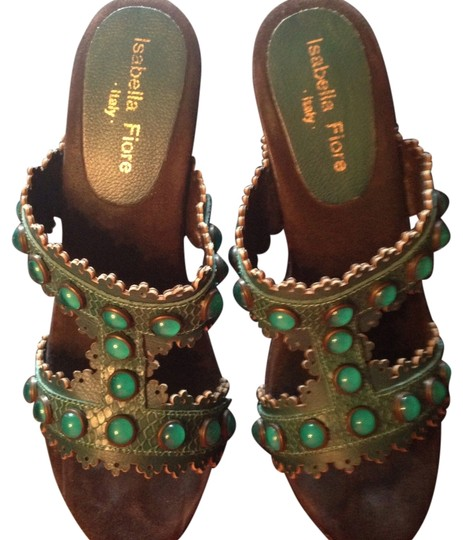 Preload https://item4.tradesy.com/images/isabella-fiore-emerald-super-comfortable-sandals-size-us-7-4425823-0-0.jpg?width=440&height=440
