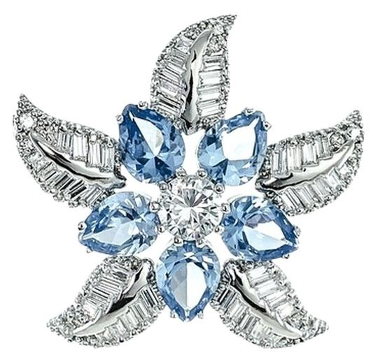 Preload https://item2.tradesy.com/images/kenneth-jay-lane-two-tone-crystals-cz-by-starfish-pin-aquamarineclear-4425916-0-0.jpg?width=440&height=440