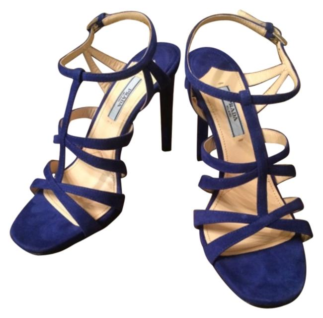 Item - Blue Heels Formal Shoes Size US 7 Regular (M, B)