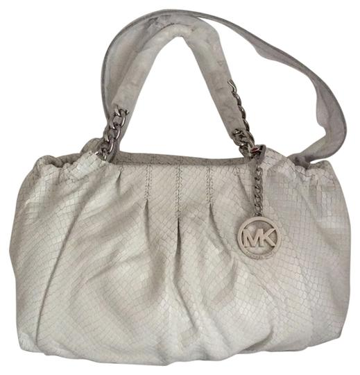 Michael Kors New With Tags Shoulder Tote in Optic White