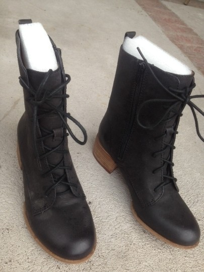 Lucky Brand Military Style Black Boots