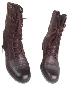 Franco Sarto Military Brown Boots