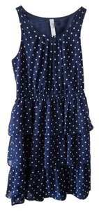 Target short dress Navy on Tradesy