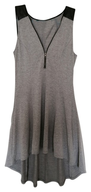 Other short dress Gray A-line on Tradesy