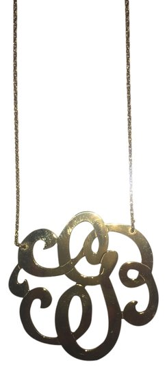 Preload https://item3.tradesy.com/images/yellow-gold-plated-g-initial-necklace-ring-4426837-0-0.jpg?width=440&height=440
