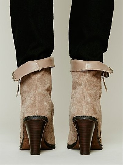 Remedy Luxury Rebel Zip For Free People Sz 39 Color Fossil New Boots