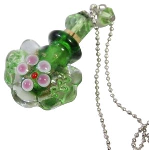 Other Perfume Bottle Glass Flower Necklace Free Shipping