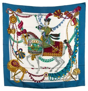Hermès Hermes Silk Scarf (Authentic Pre Owned)
