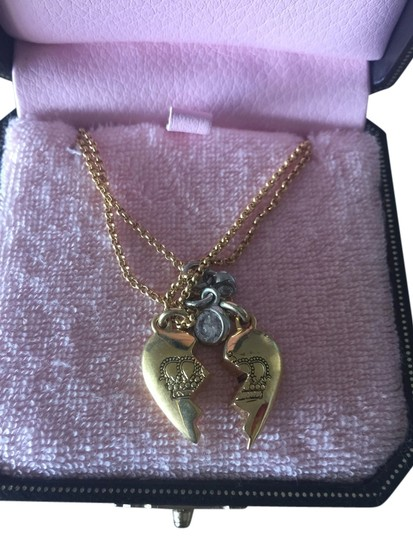 Juicy Couture Juicy Couture Best Friends Forever Necklace.