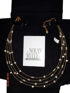 Nolan Miller The Nolan Miller Glamour Collection Multi Strand Floating Pearl Necklace