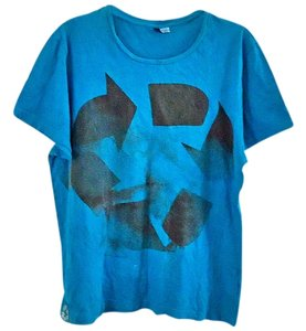 Divided by H&M Cotton T Shirt blue