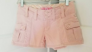 Plugg Cargo Shorts Pink