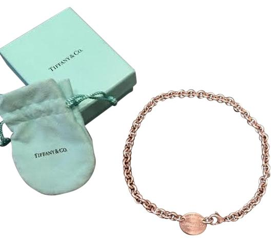 Tiffany & Co. Return to Tiffany Sterling Silver Oval Tag Necklace