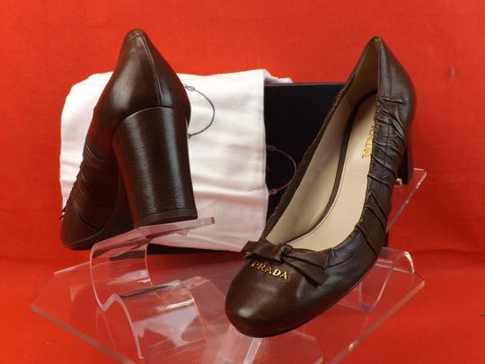 Prada Dark Brown Pumps