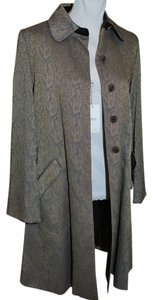 Armani Collezioni Trench Designer New Snakeskin Trench Coat