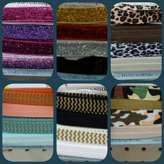 Other For Sale!! Custom Hairties and Headbands
