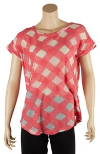 Marc by Marc Jacobs T Shirt Coral/White