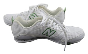New Balance White/Green Athletic