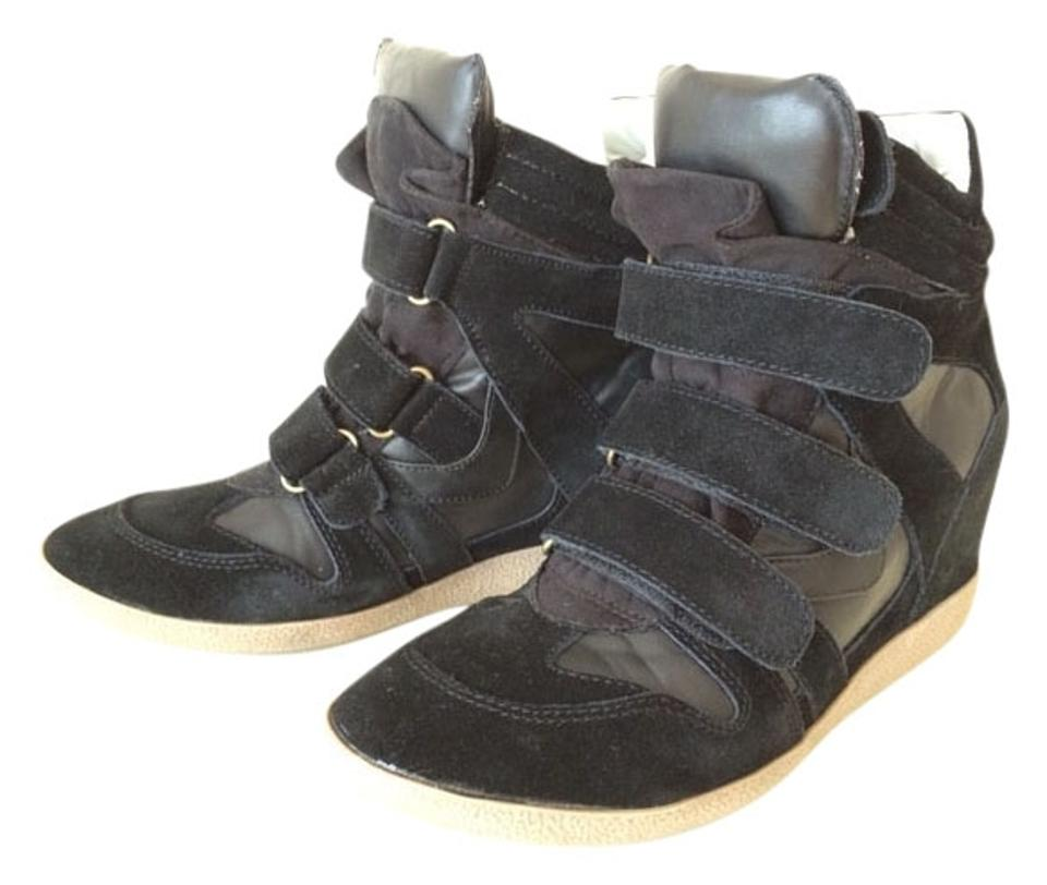 a04470e3bda Steve Madden Black Hilight Wedge Sneakers Sneakers. Size  US 9 Regular ...