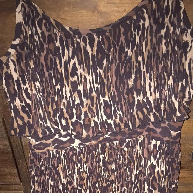Guess short dress Leopard on Tradesy