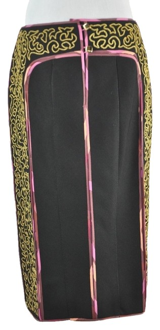 Preload https://item1.tradesy.com/images/fendi-runway-pencil-black-and-multicolor-gold-tone-chain-embroidery-42-knee-length-skirt-size-8-m-29-4441990-0-0.jpg?width=400&height=650