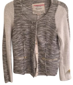 Anthropologie Metallic Jacket Cardigan