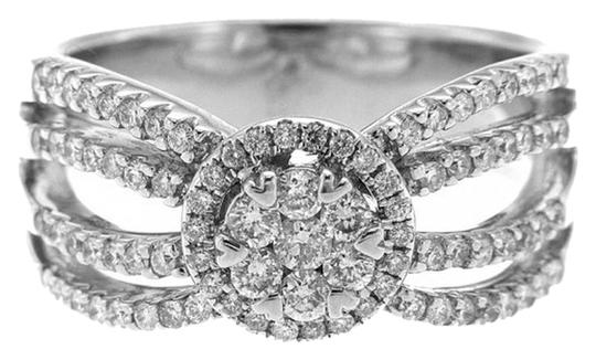 Other BRAND NEW, Ladies 14K White Gold Diamond Right Hand Ring