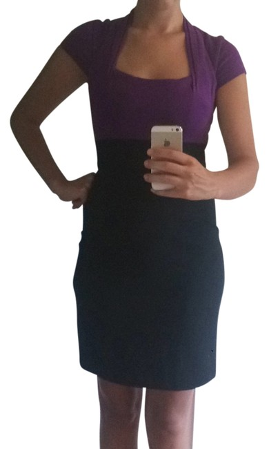 Preload https://item5.tradesy.com/images/max-and-cleo-black-purple-bcbg-colorblock-cocktail-above-knee-formal-dress-size-4-s-4442314-0-0.jpg?width=400&height=650