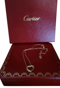 Cartier Cartier Trinity De Heart Necklace 18K Yellow/White/Pink Gold