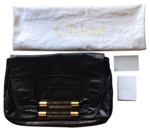 Chloé Black Clutch