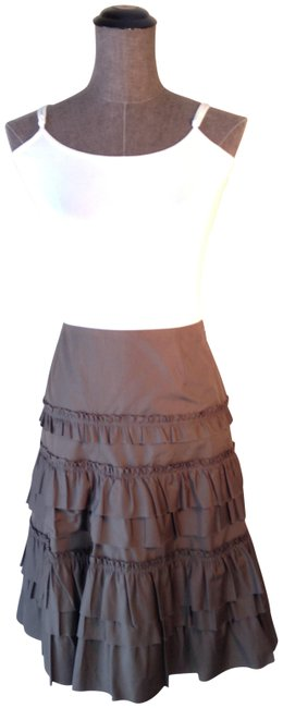 Item - Olive Green Tiered Skirt Size 10 (M, 31)