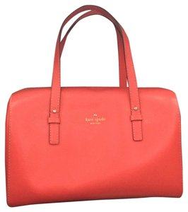 Kate Spade Satchel in Bright Coral