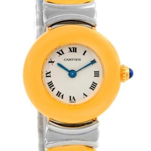 Cartier Cartier Casque Ladies Stainless Steel 18k Yellow Gold Watch