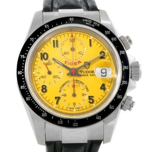 Tudor Tudor Tiger Prince Date Yellow Dial Steel Watch 79260 Unworn