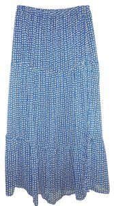 Forever 21 Maxi Skirt blue, tan