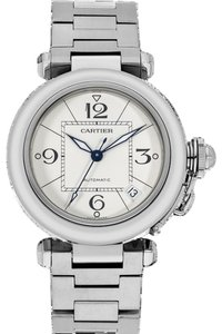 Cartier Cartier Pasha C De Cartier Stainless Steel Watch