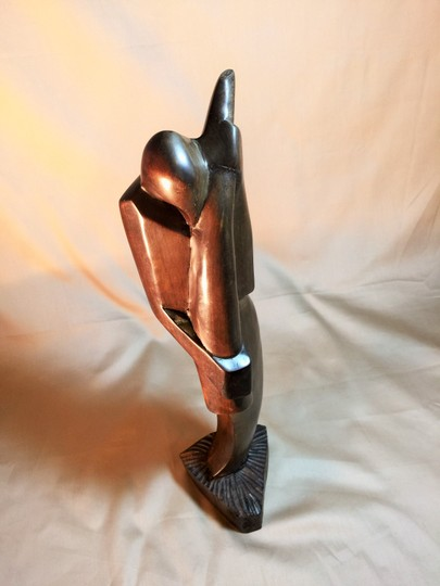 Other Mourning Man; African Wood Carving [ SisterSoul Closet ]