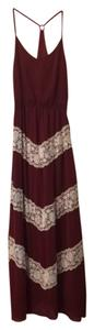 Maroon Maxi Dress by Charming Charlie