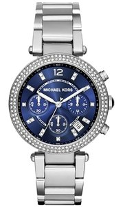 Michael Kors Michael Kors Women's Chronograph Parker Stainless Steel Bracelet Watch 39mm MK6117