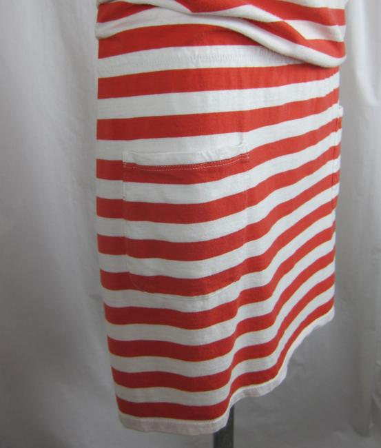 C&C California short dress red, white Beach Swimsuit Cover on Tradesy