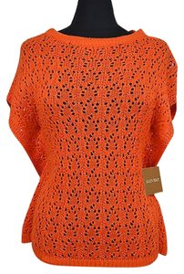 Ellen Tracy 41 81 Women Creamsicle Sleeveless Size Sweater