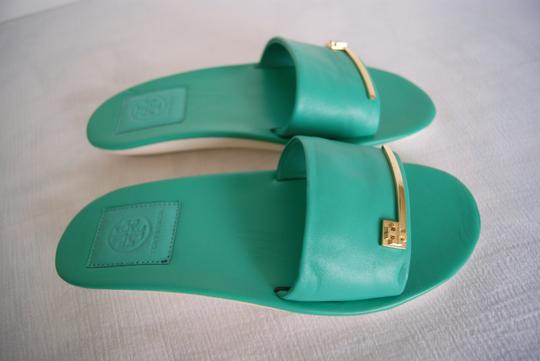 Tory Burch Turquoise Sandals